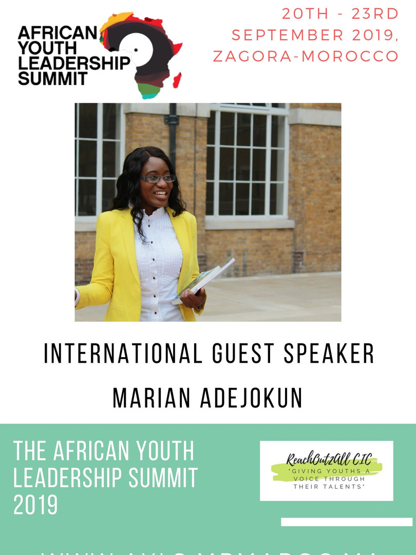 THE AFRICAN YOUTH LEADERSHIP SUMMIT 2019