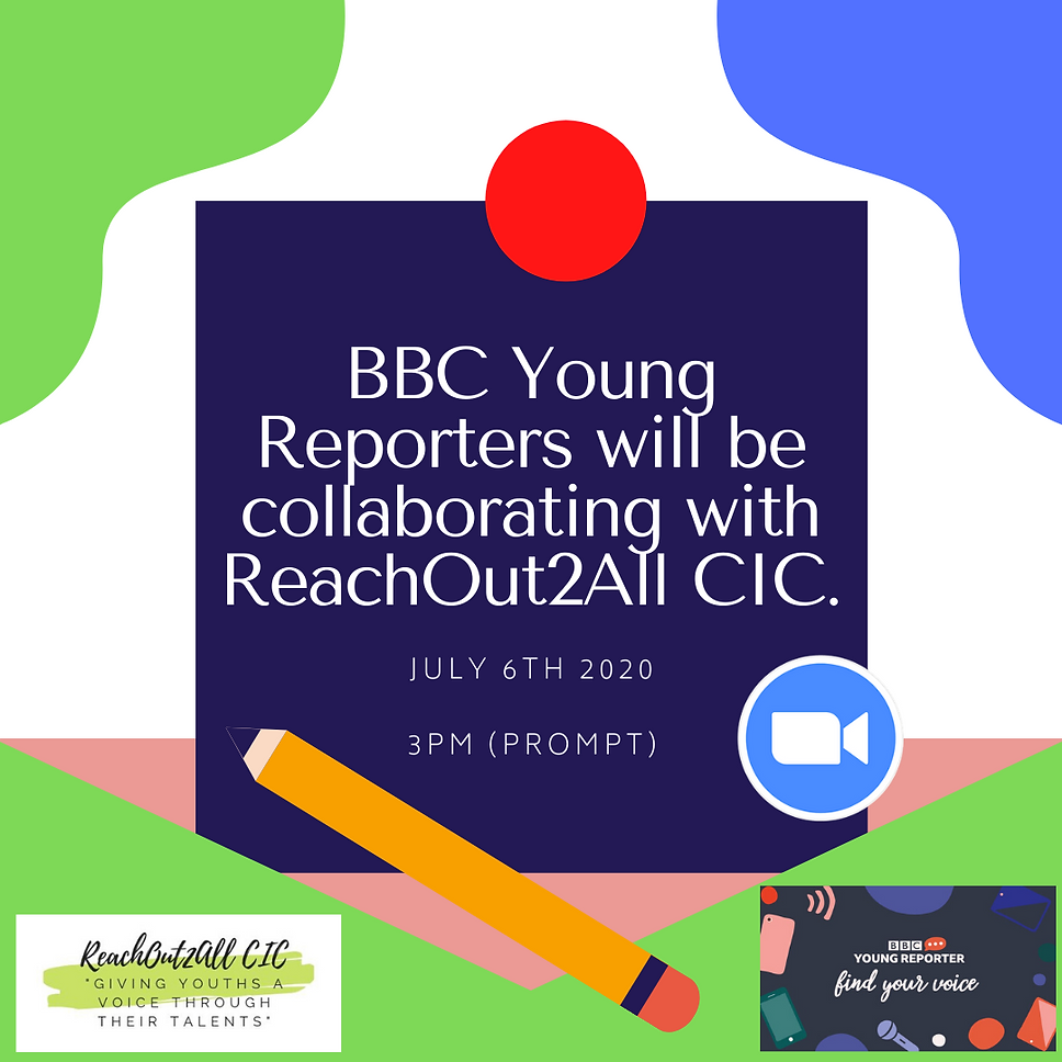 BBC Young Reporters will be collaberatin