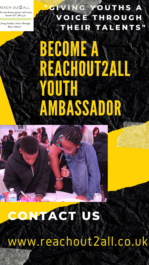BECOME A REACHOUT2ALL YOUTH AMBASSADOR.p