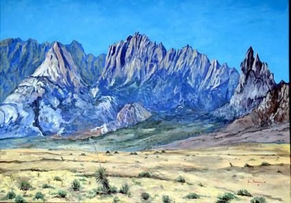 White Sands Organ Mountains