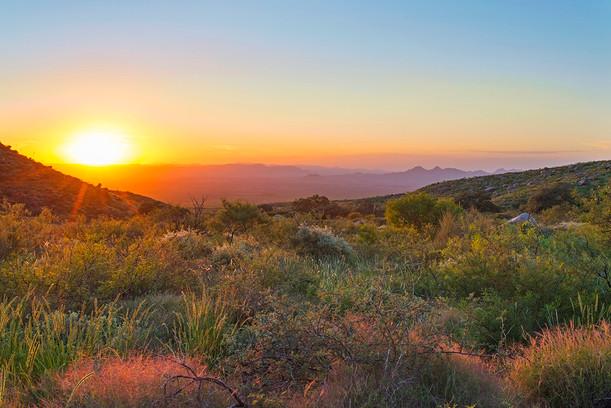 Fillmore Canyon at Sunset