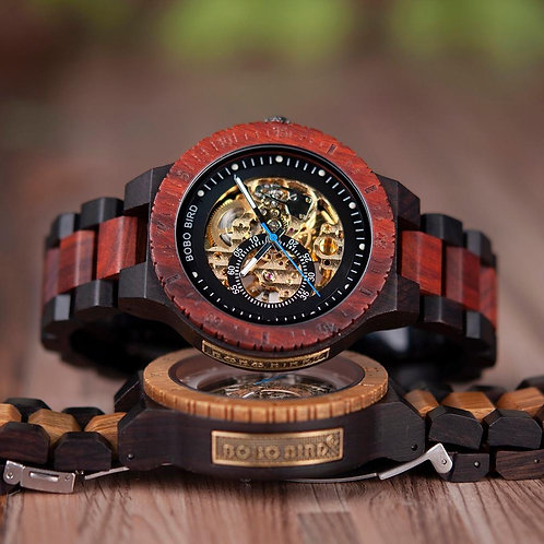 """Elegant Class"" Wood Watch"