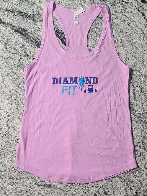 DIAMONDFIT Racerback Tank - Large