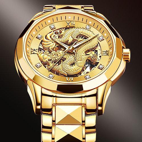 """Fury"" Dragon Skeleton Automatic Mechanical Watch"