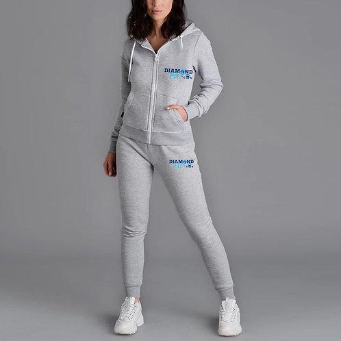 Women's DIAMONDFIT Jogger set - Grey or Black