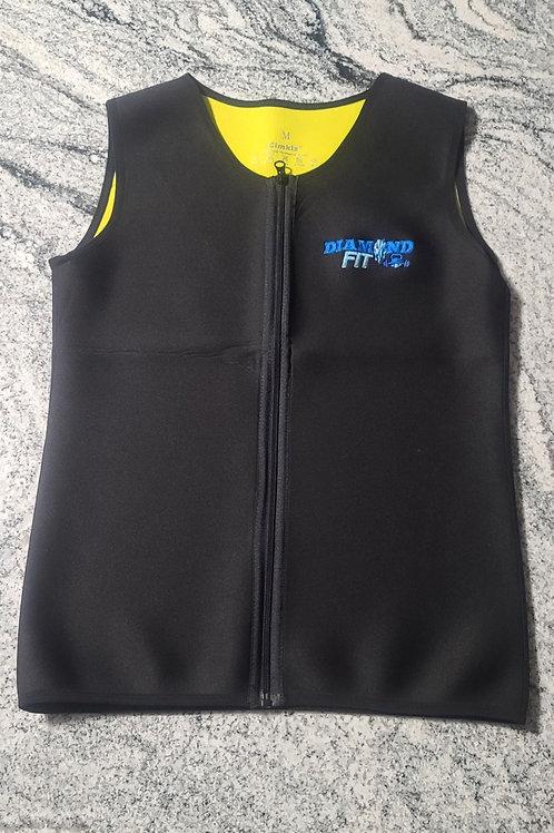 Men's DIAMONDFIT Embroidered Sweat Vest...Size M - 3XL
