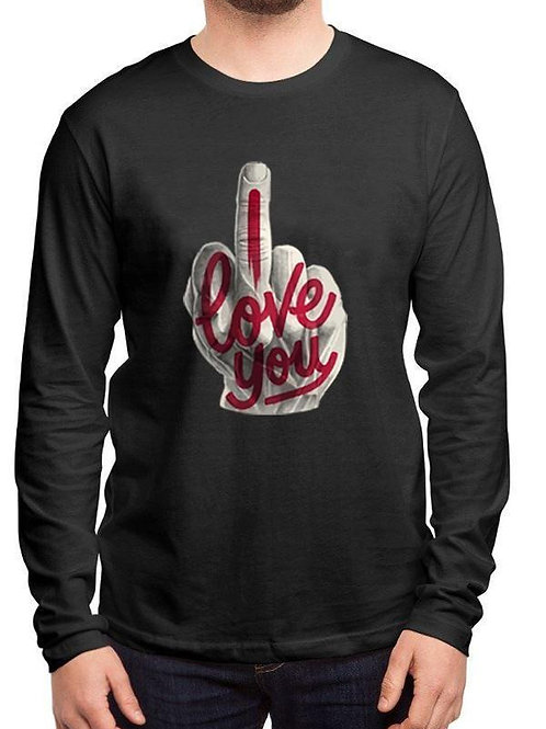 I Love You Full Sleeve T-shirt