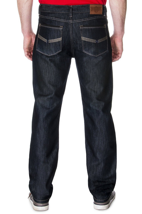 MCMLXV Men's Premium Denim Dark Wash Jean