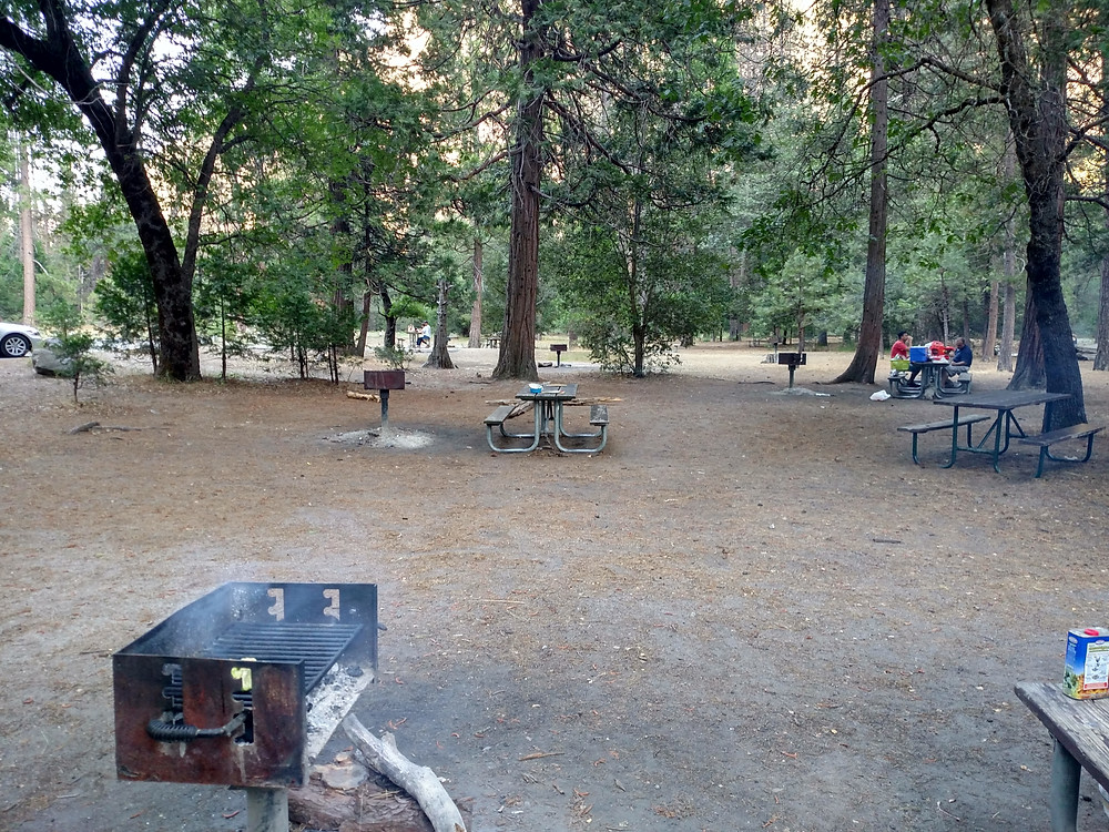 Yosemite Valley only looks this empty when you eat dinner at the base of El Capitan.