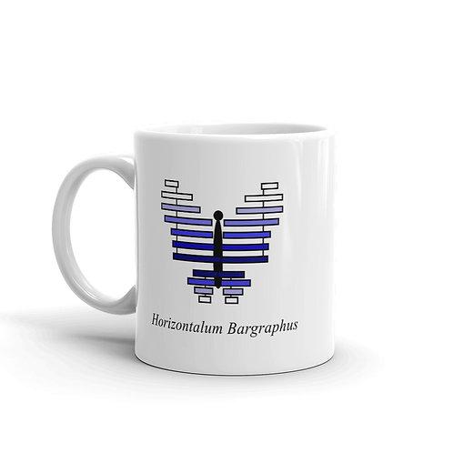 Datavizbutterfly - Horizontalum Bargraphus - Mug