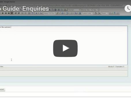 Ecordia Focus on Functionality:  Enquiries
