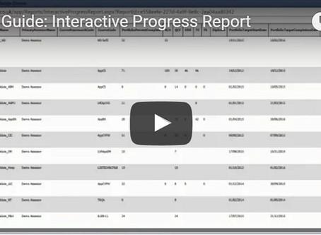 Ecordia Focus on Functionality:  Interactive Progress Report