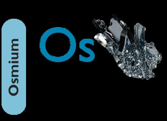 Osmium (Os)