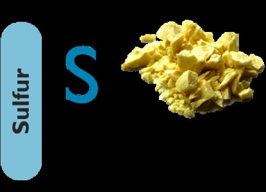 Sulfur (S)