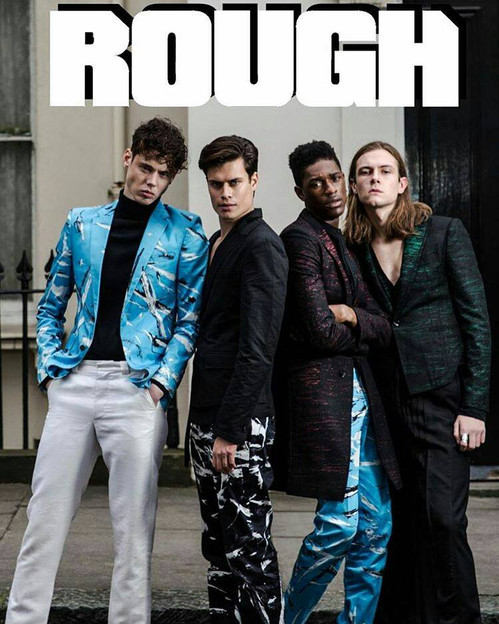 rough magazine cover