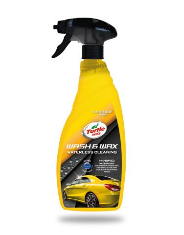 Turtle Wax Hybrid Wash & Wax Waterless Cleaning