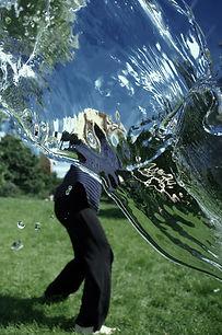 Venla Mustonen, distortion, water, hyde park, light, movement, dance, refraction