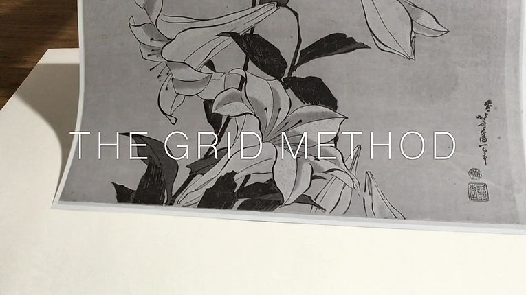 A step-by-step demonstration of the Grid Method. When working from a reference you cans use this methodology to reproduce your reference image in any scale.