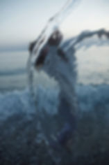 water, light, movement, sea, calabria, dance, Ely Principe, distortion