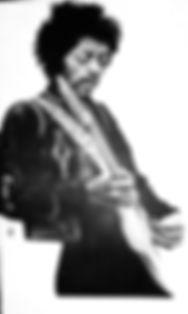 Jimi Hendrix, Valeria Latorre, mural , london
