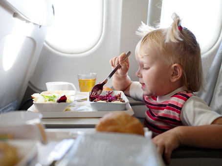 Vitoria Falcão para Engenhotur: Alimentação no voo e em viagens