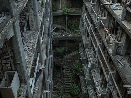 Ilha abandonada no Japão