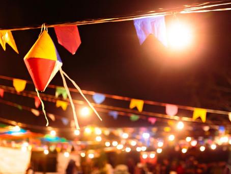 Calendário de festa junina online