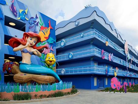 Se quer ficar com a família em algum Hotel da Disney, o Art of Animation é uma boa escolha!