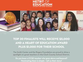 Heart of Education Award Noms