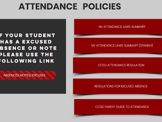 Excused Absences? Submit Online