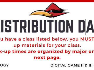Distribution Day Info!
