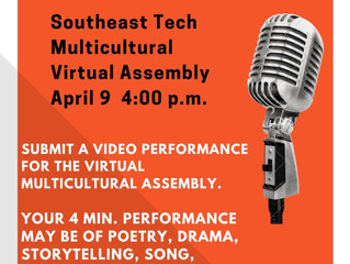 Multicultural Assembly! Audition Now!