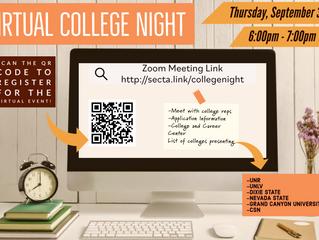 Virtual College Night!