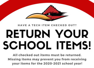 Return School Items!