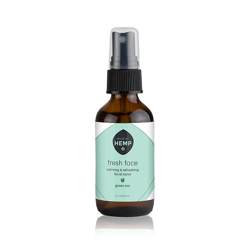 Fresh Face Toner 2oz. | Botanical Blend | Ft. Green Tea