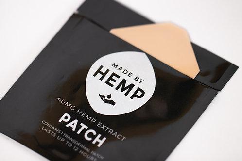 Hemp Patch 40mg | 1 Patch | Targeted Relief | Hemp