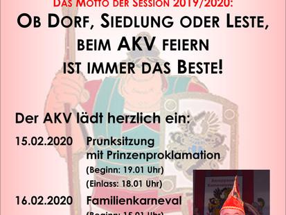 Besuch der Römernarren Anreppen !!!