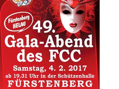 Besuch Gala-Abend in Fürstenberg