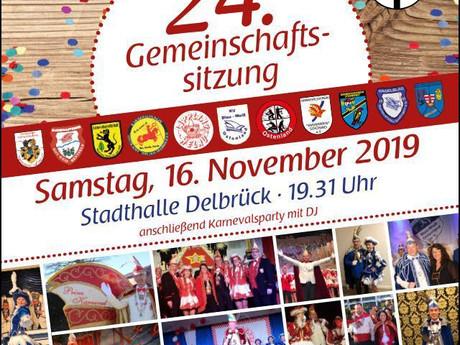 Gemeinschaftssitzung des SDK Delbrück!