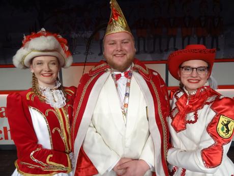 Prinz Karneval 2019 Frederik Julius I. Fraune!!!