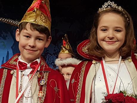 Gr. Kinderkarneval der KG Bleib treu Boke