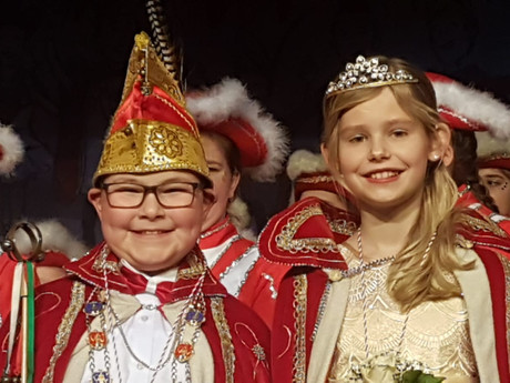 Neues Kinderprinzenpaar Manuel I. Markmann und Camilla die I Schulte!!!