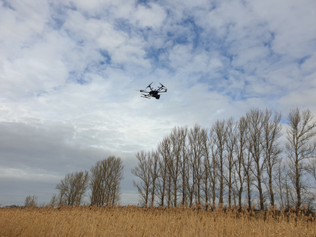 Environment/pollution measurements with UAS