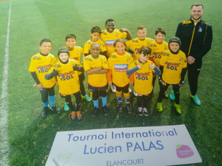 Tournoi international - Lucien Palas  à Elancourt