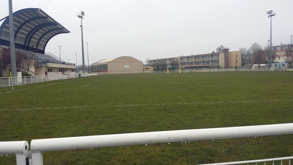 Photo du Stade Guy Moquet, prise le 13 février 2018