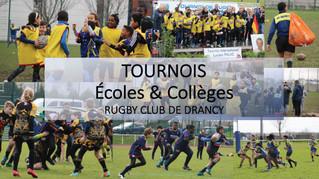 Tournois - prochaines dates