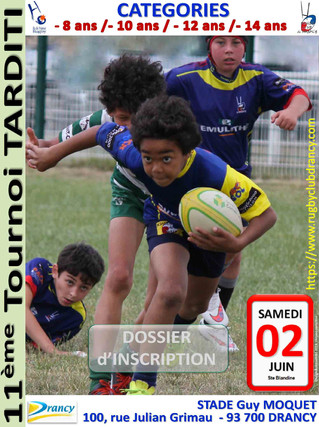 11è Tournoi Tarditi - 2 juin 2018