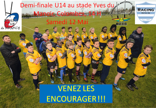 U14- RACING vs RC DRANCY - 1/2 finale