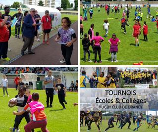 Photos et vidéos des tournois des écoles de Drancy