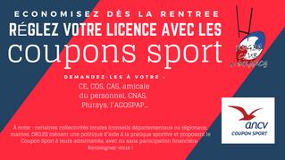 """Les """"Coupon Sport"""" au RC Drancy !"""